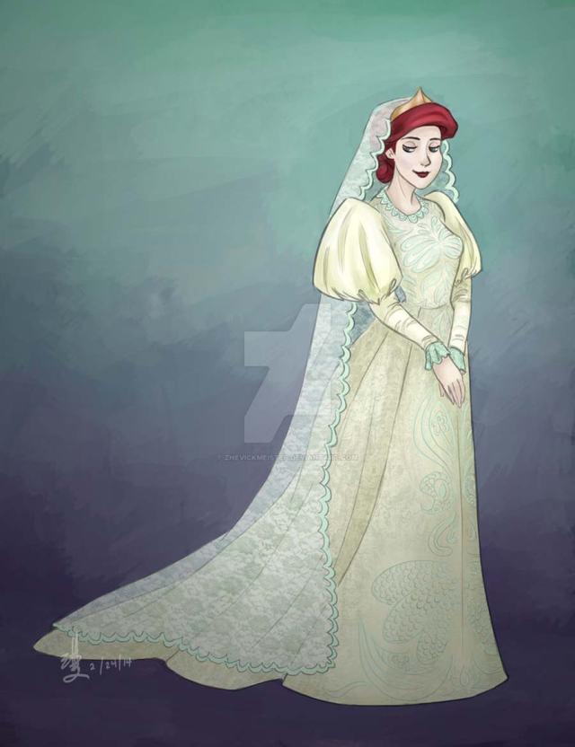 disney-ilustracao-princesasnoivas-historicas-ariel