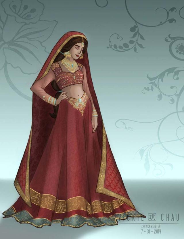 disney-ilustracao-princesasnoivas-historicas-jasmine