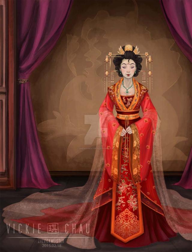 disney-ilustracao-princesasnoivas-historicas-mulan
