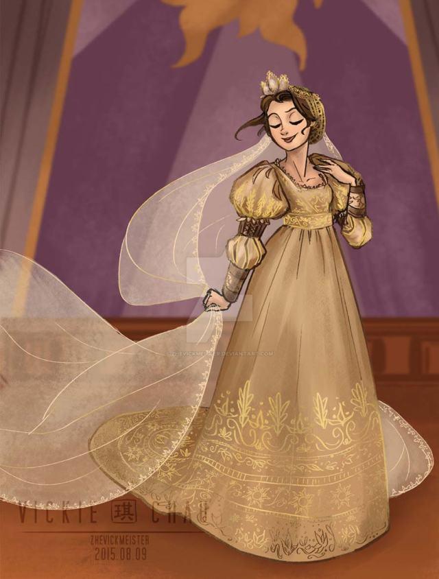 disney-ilustracao-princesasnoivas-historicas-rapunzel